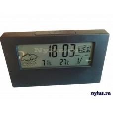 Часы с термометром/гигрометром