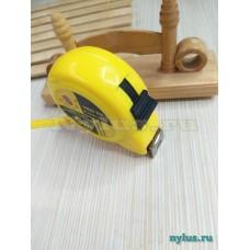 Рулетка желтая 5м.